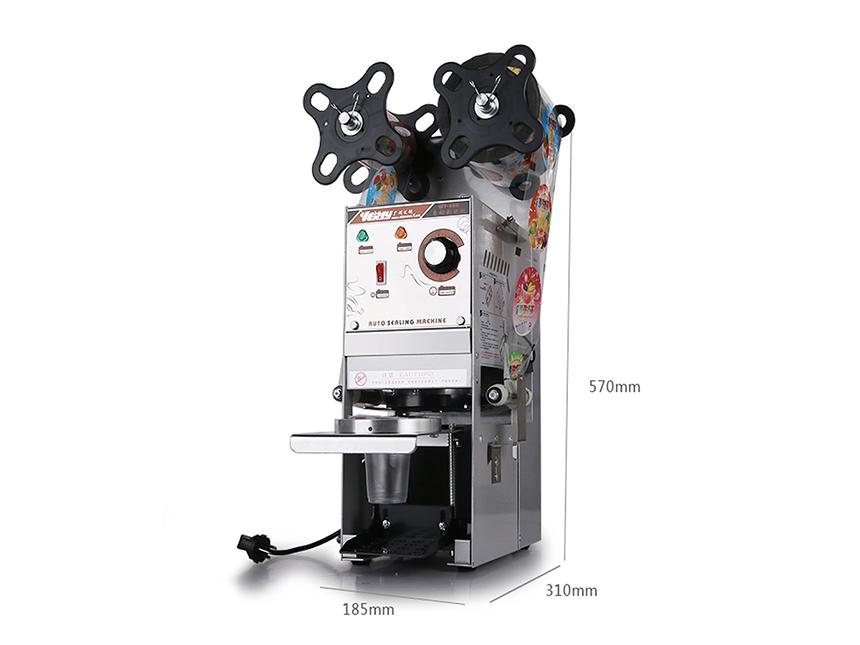 Máy dập nắp cốc bán tự động Willy-WY680 1