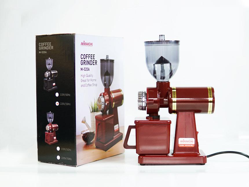 Máy xay cà phê Akira M520A (Đỏ, Đen) 2